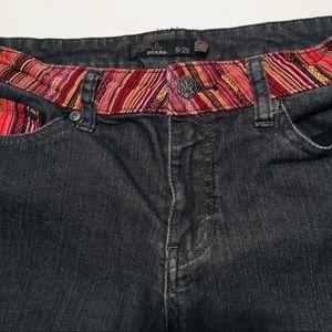 Prana Shorts - PRANA Size 8/29 Charcoal Black Shorts EUC